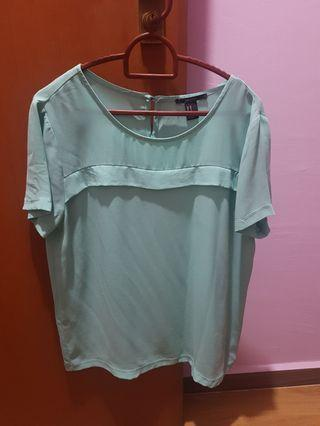 Forever 21 mint top