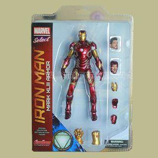 30cm Iron Man Mark 43 Marvel Select Premium Edition