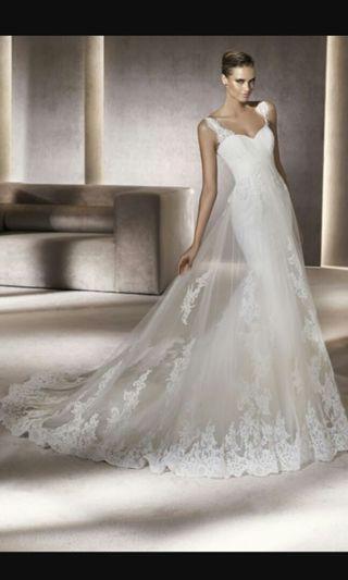 Pronovias Petunia wedding gown