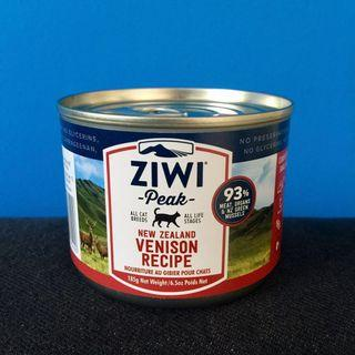 🚚 Ziwi Peak (Venison Canned Cat Food 185g)
