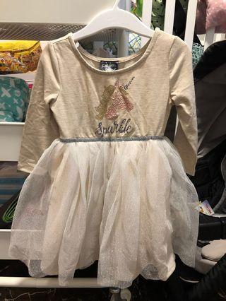 🚚 Baby girl Unicorn Tutu Dress