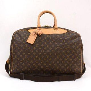 VINTAGE Louis Vuitton Brown Monogram Canvas Alize 3 Travel Luggage Bag