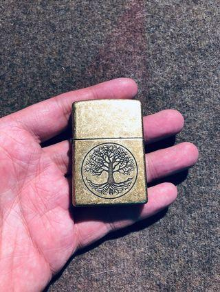 Zippo Brass with Tree of Life