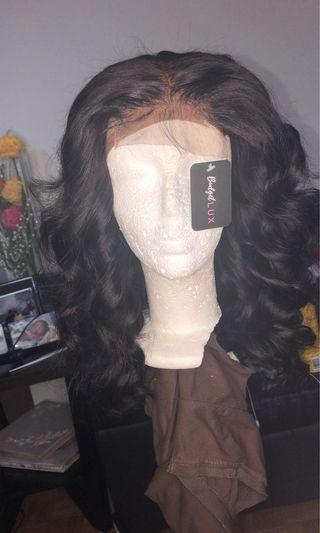 "*new* 14"" bodywave closure wig"