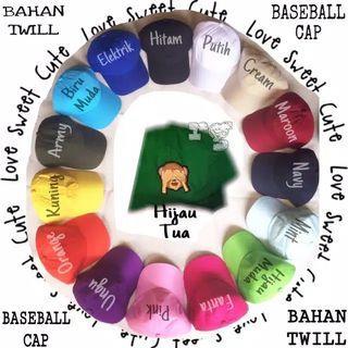 Topi Baseball Polos