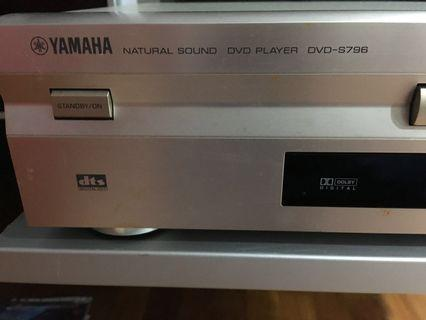 Yamaha dvd s796