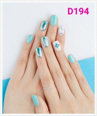 Dashing Diva Korea nail sticker 假甲貼D193