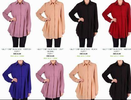 Poplook /poppy top. Haley blouse by poplook