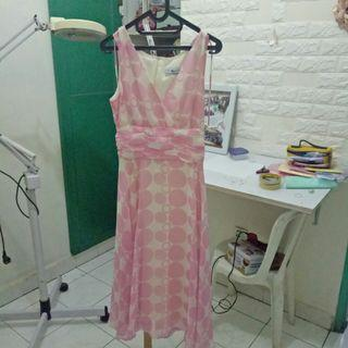 Pink dress / gaun pink / gaun pesta