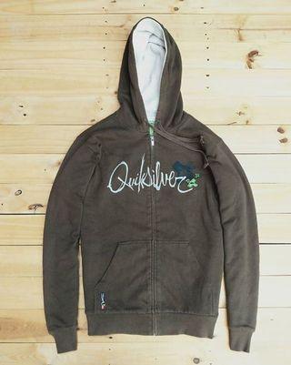 Original Hoodie Zipper Quicksilver