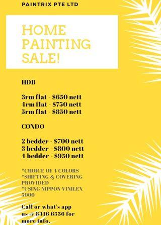 Painting Promotion!