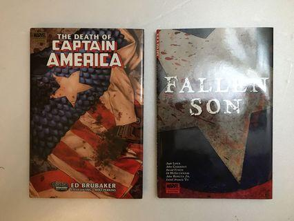 Captain America Duo Compilation (Hardcover)