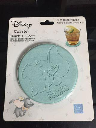 Disney Dumbo 小飛象 珪藻土 杯墊