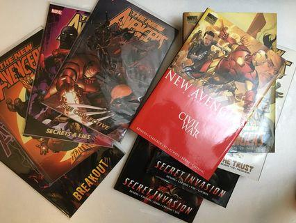 New Avengers Compilation Vol 1-9