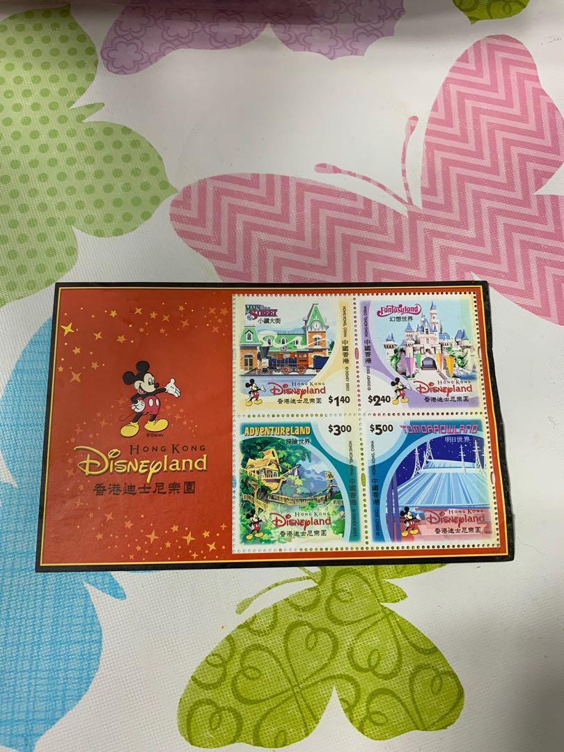 香港迪士尼樂園郵票