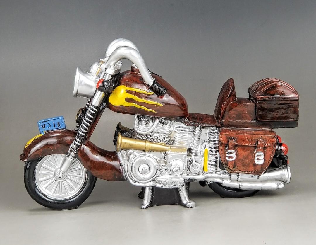 海外回流重型電單車擺設品