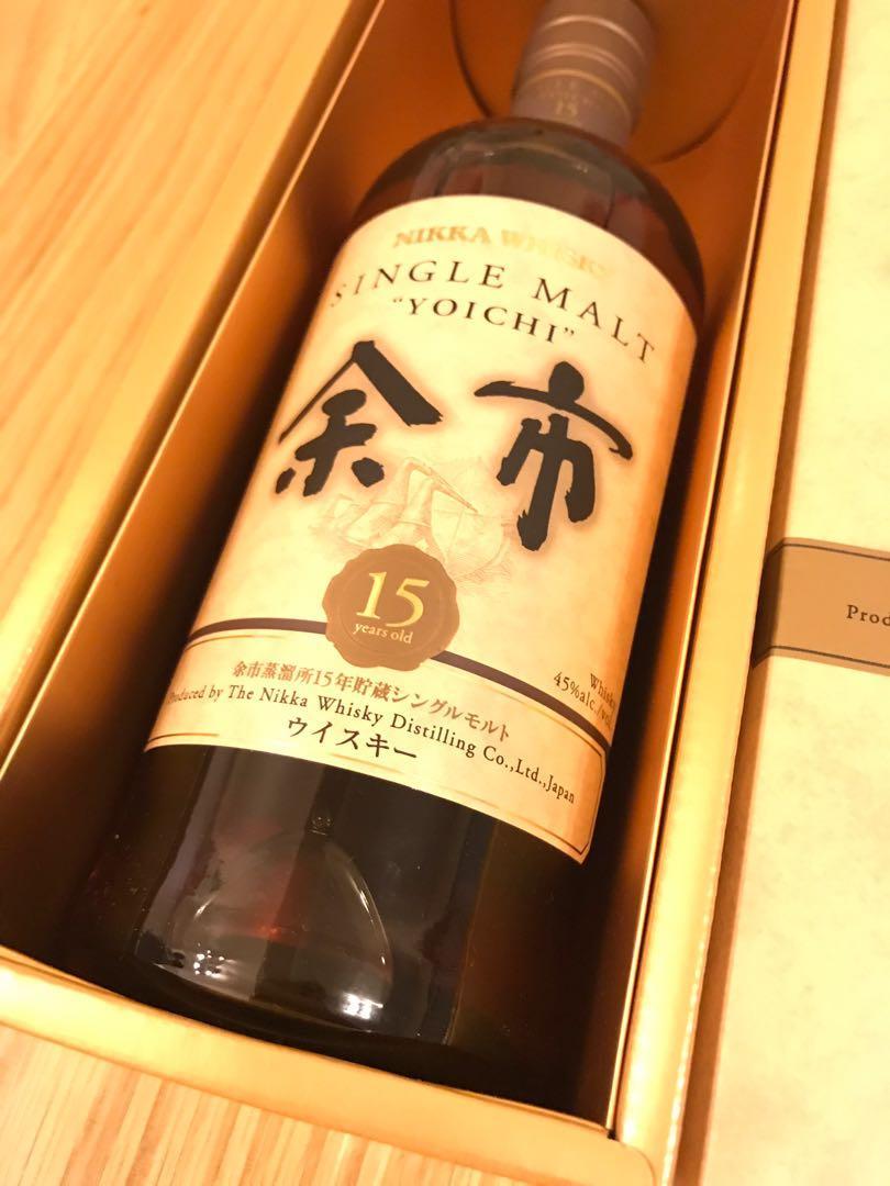 日本入- 余市15年