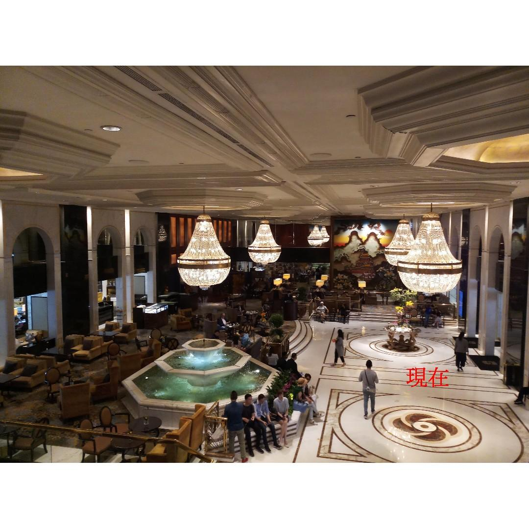 老照片 80年代初 尖東 香格里拉酒店大堂 10R 2張