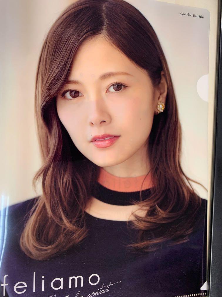 包郵 - 乃木坂46 白石麻衣 Mai Shiraishi A4 Folder