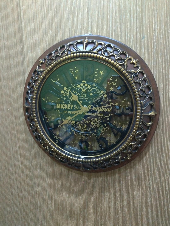 迪士尼 時鐘 掛鐘 復古 SEGA 景品
