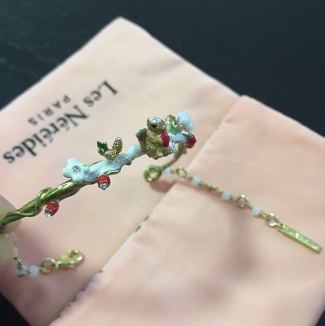 🈹🈹 減價 Les Nereides 最新秋冬 松鼠系列 手鏈/鍊 bracelet