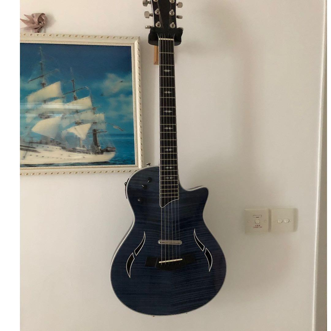 Sale!! 電木結他兩用 - Taylor T5z Pro Pacific Blue, Electric-Acoustic Hybrid Guitar (配硬盒)
