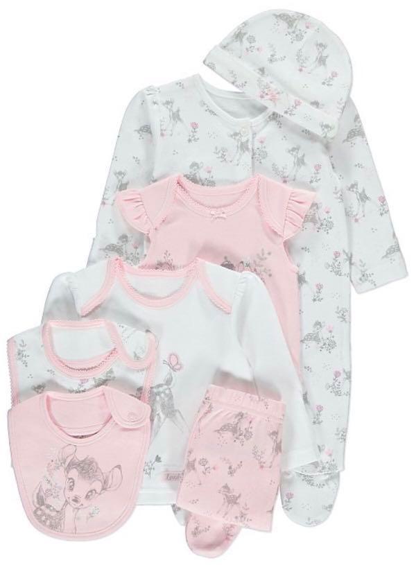 🇬🇧英國直送🇬🇧 Bambi 小鹿斑比 初生嬰兒7件套裝