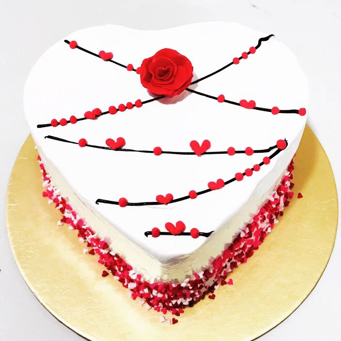 Limited Edition Heart Cake