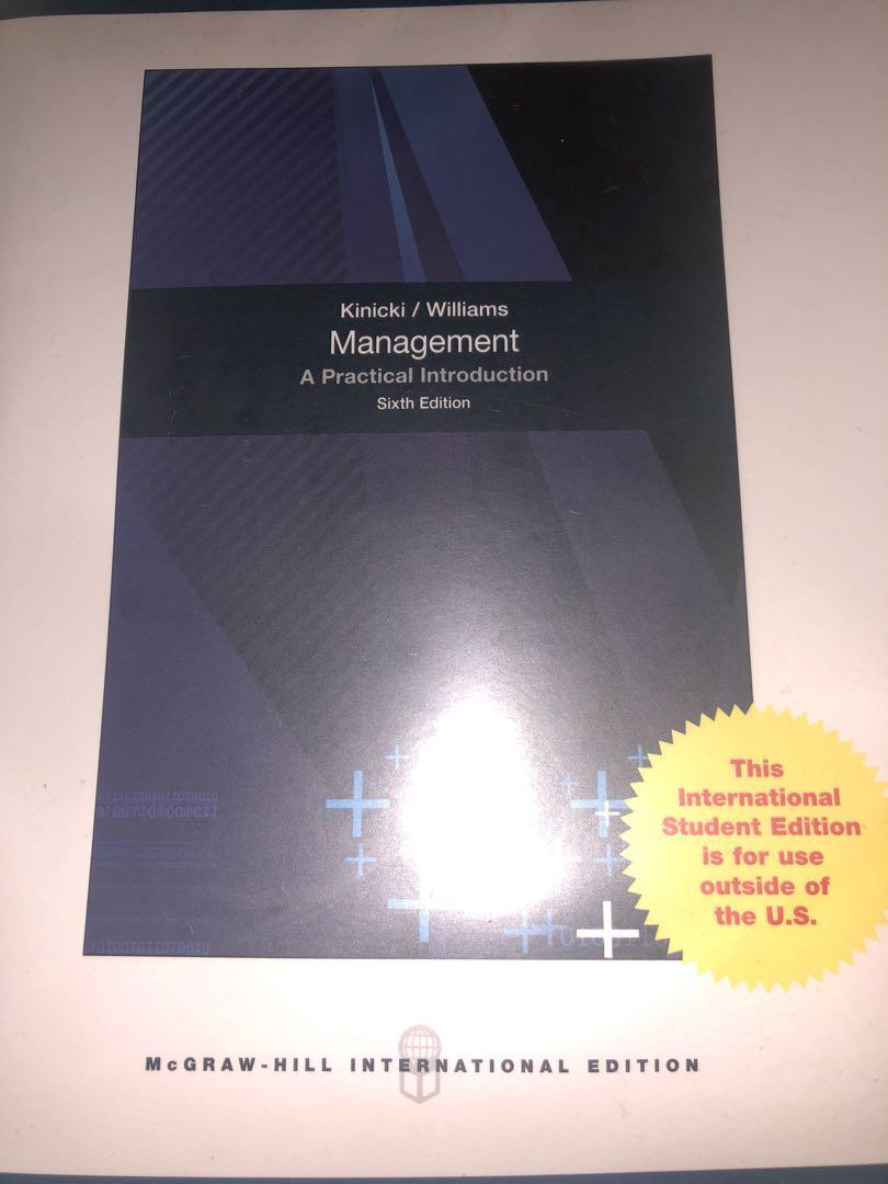 A practical introduction (management) BBA 大學教科書