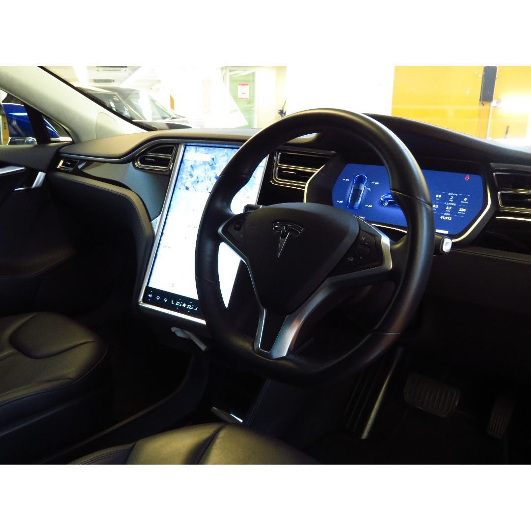 2016 Tesla MODEL S 85D 0首 只行41000km  上會$358000
