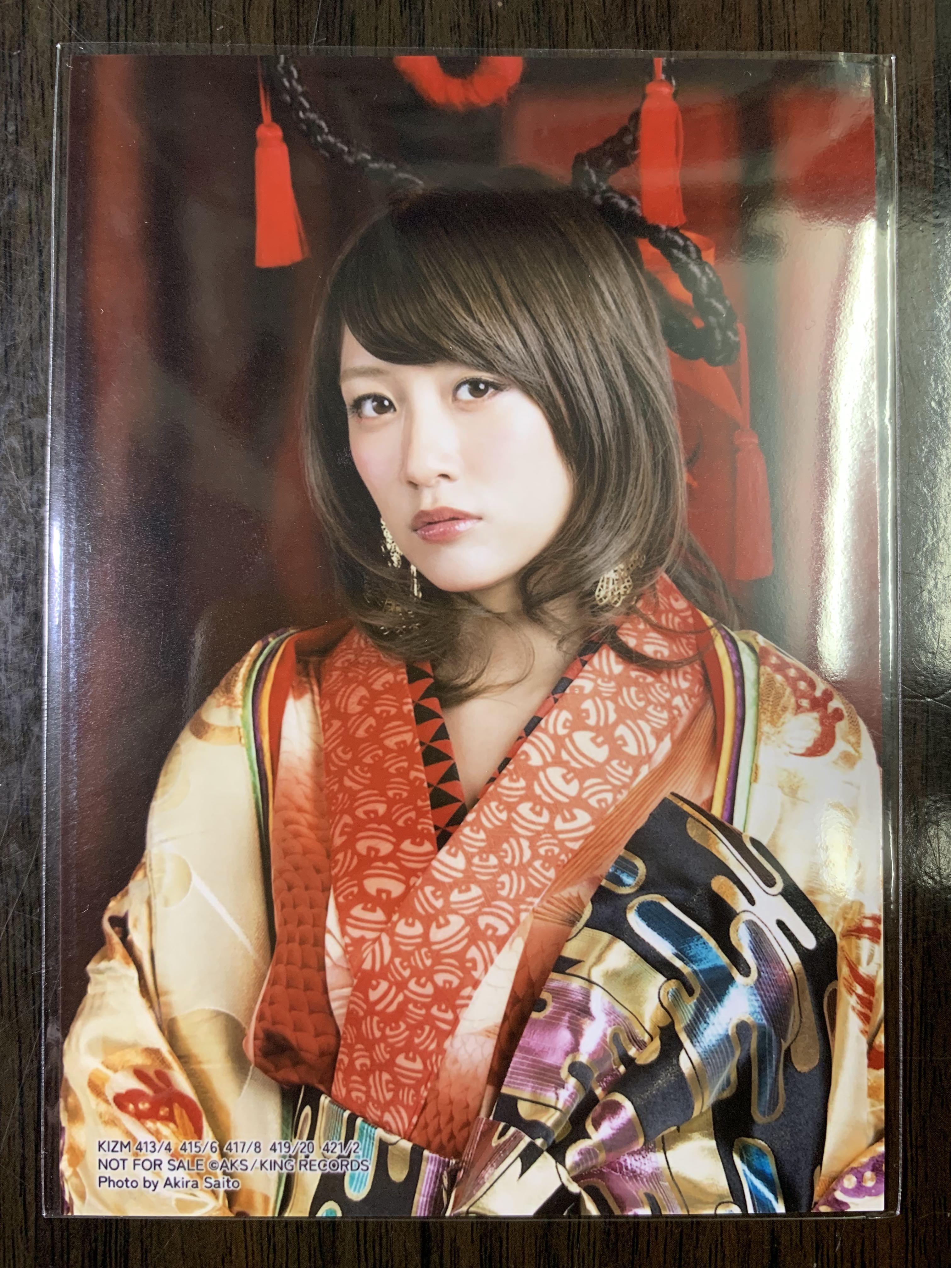 AKB48 高橋みなみ 高橋南 43rd 43單 君はメロディー 通常盤封入 生寫真