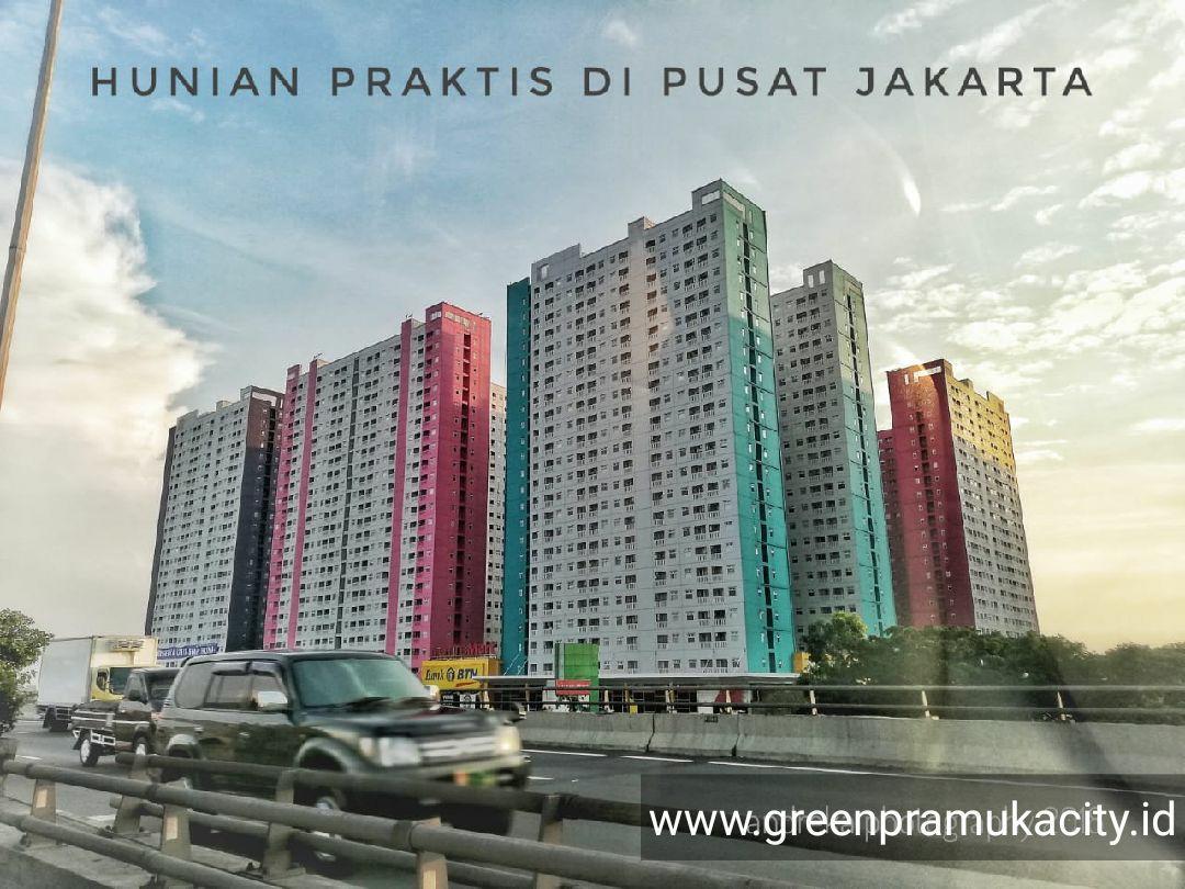apartment green pramuka promo dp 5%