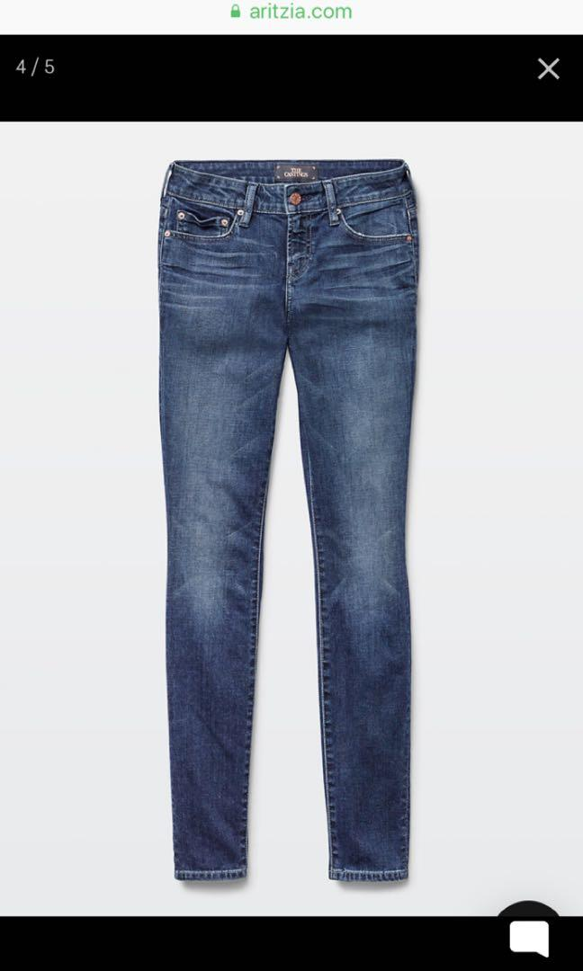 Aritzia The Castings Mid Rise Skinny Jeans