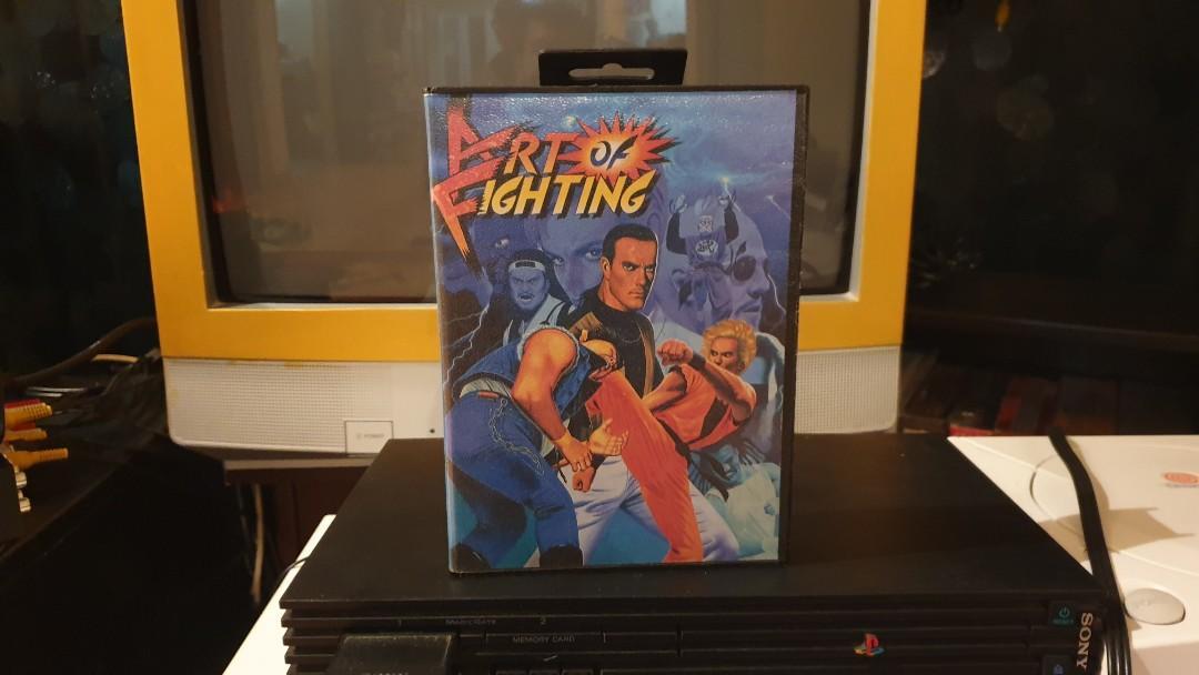 Art Of Fighting Sega Mega Drive Genesis Toys Games Video