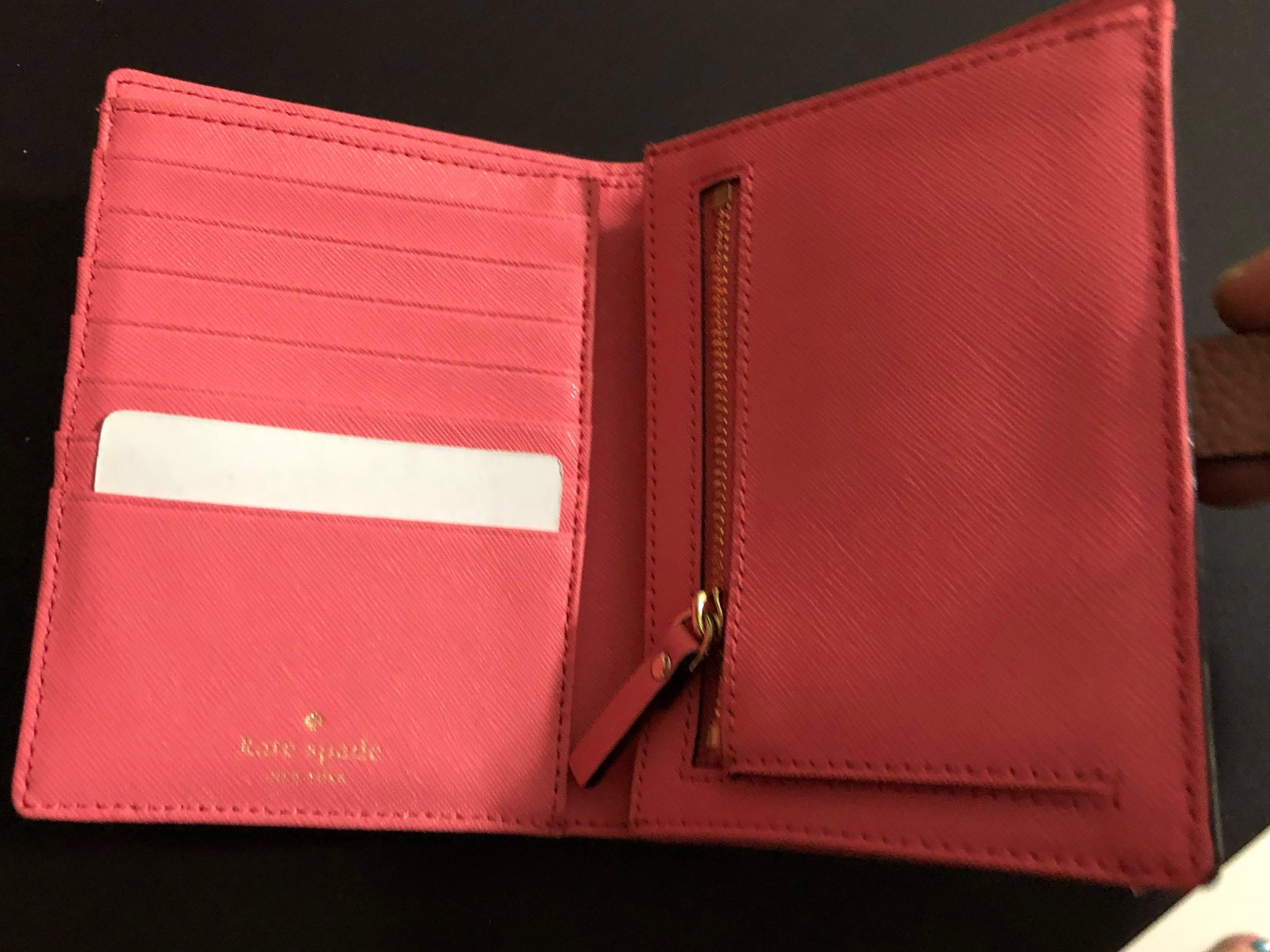 Authentic Coach and Katespade Wallet
