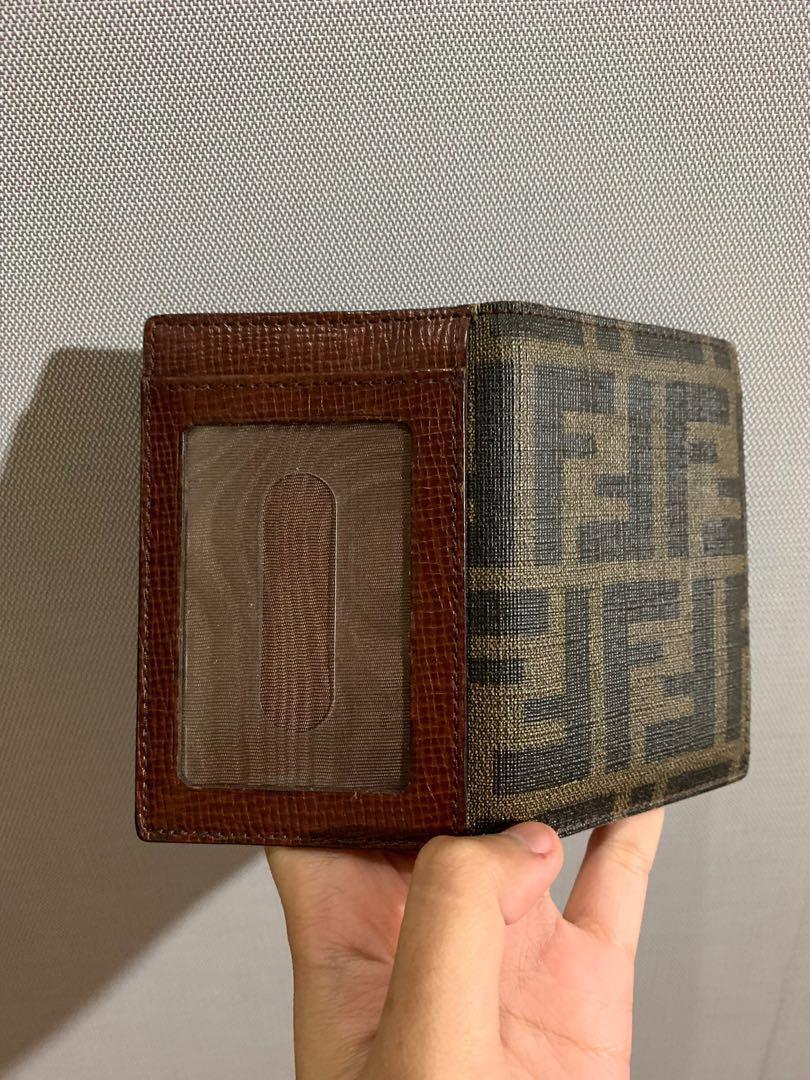 Authentic Vintage Fendi Flap Card Wallet