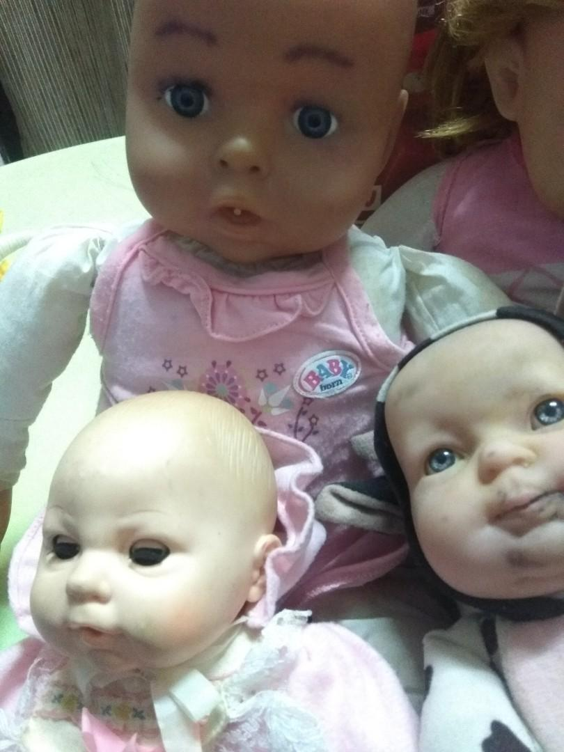 Baby doll set (price for all)