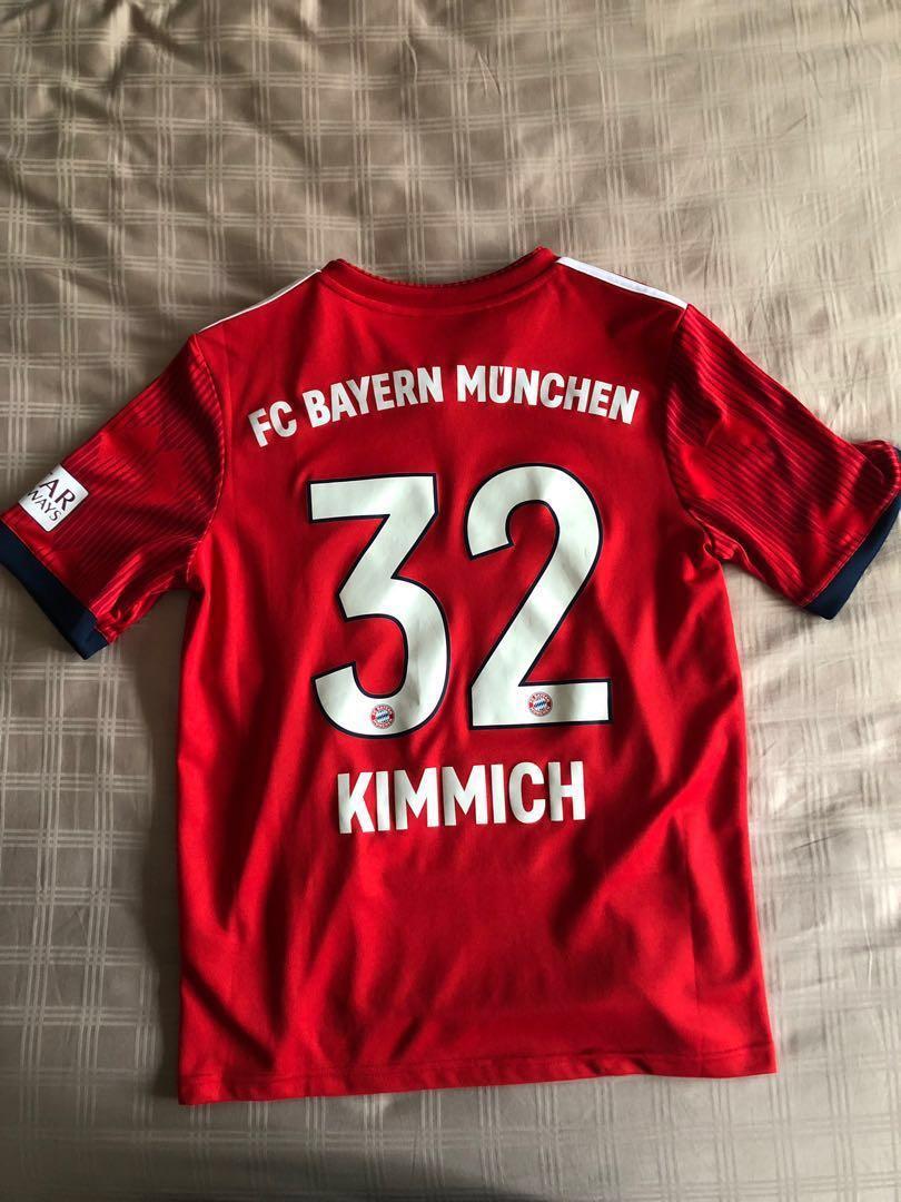pretty nice 0065f a8dc9 Bayern Münich #32 Joshua Kimmich Jersey , Sports, Sports ...