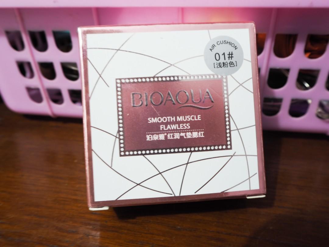 Bioaqua Air Cushion 01 Light Pink
