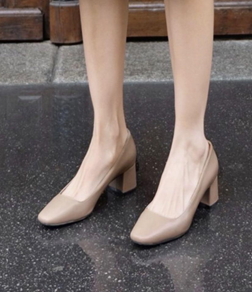 Brand New PU Leather ladies low heels