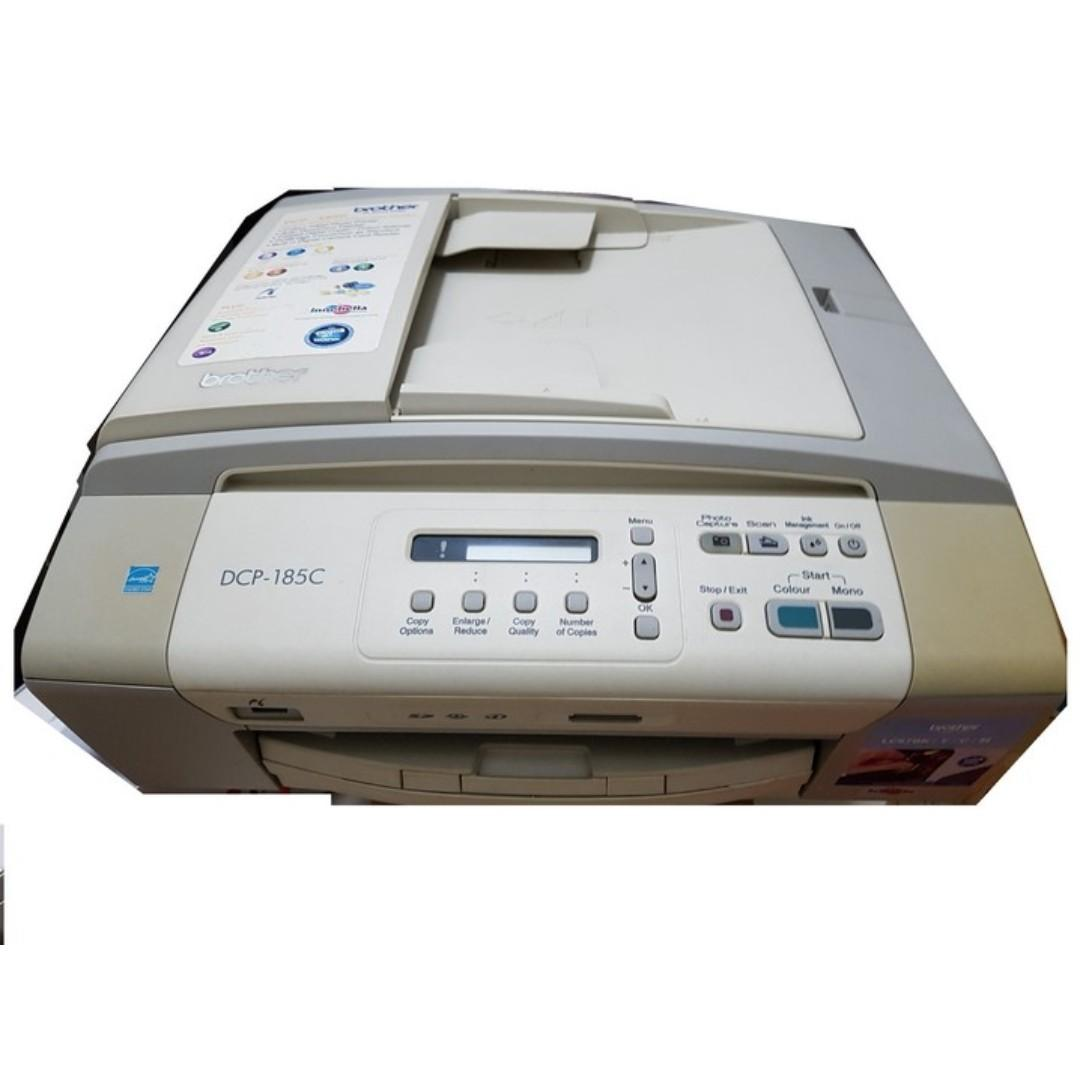Brother DCP-185C *Printing function spoilt but scanning is OK*