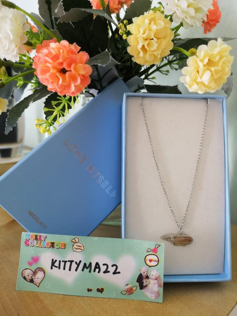 [WTS] BTS LOVE MYSELF OFFICIAL MD 2ND EDITION - Necklace