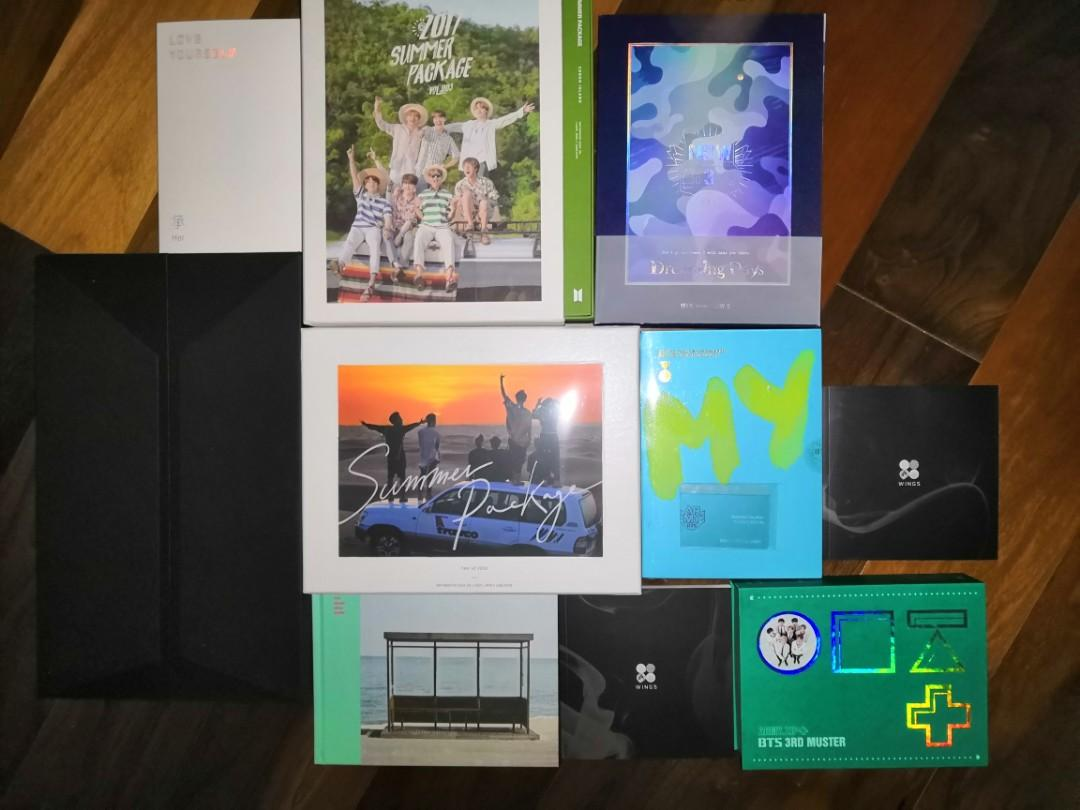 BTS RARE COLLECTION CLEARANCE SALES (PRICE REDUCE)🎉🎊🎉🎊🎉