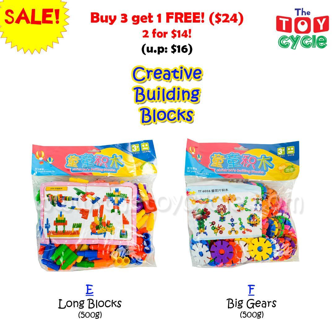 Building Blocks Toys - Educational and fun!
