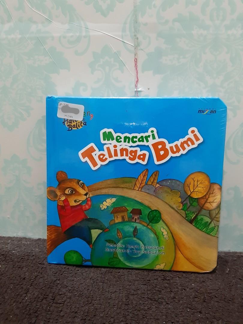"Buku Anak ""Mencari Telinga Bumi"""