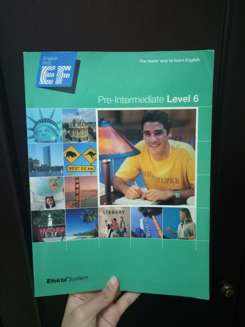 Buku les EF level pre-intermediate 6