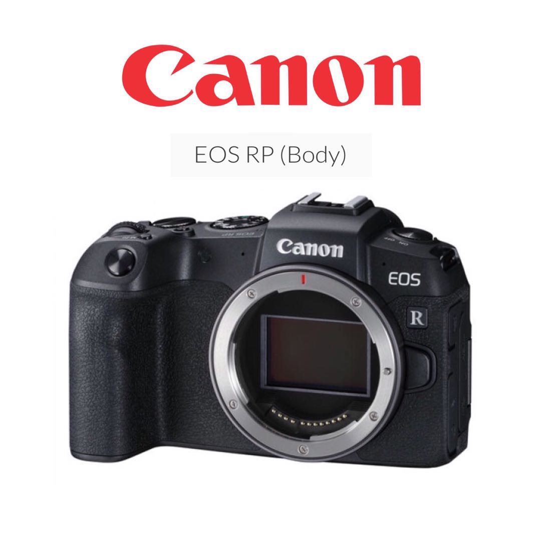 Canon EOS RP Body, Photography, Cameras, Mirrorless on Carousell