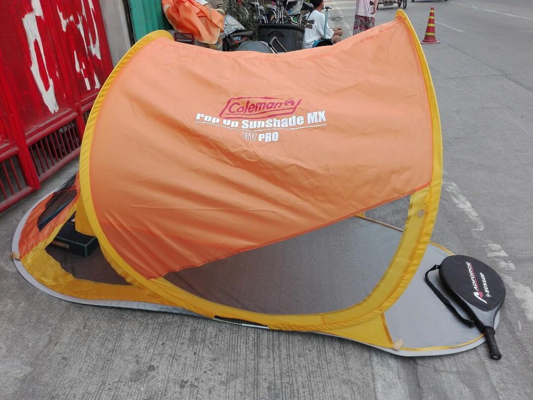 Coleman Pop Up Sunshade Mx Beach Tent