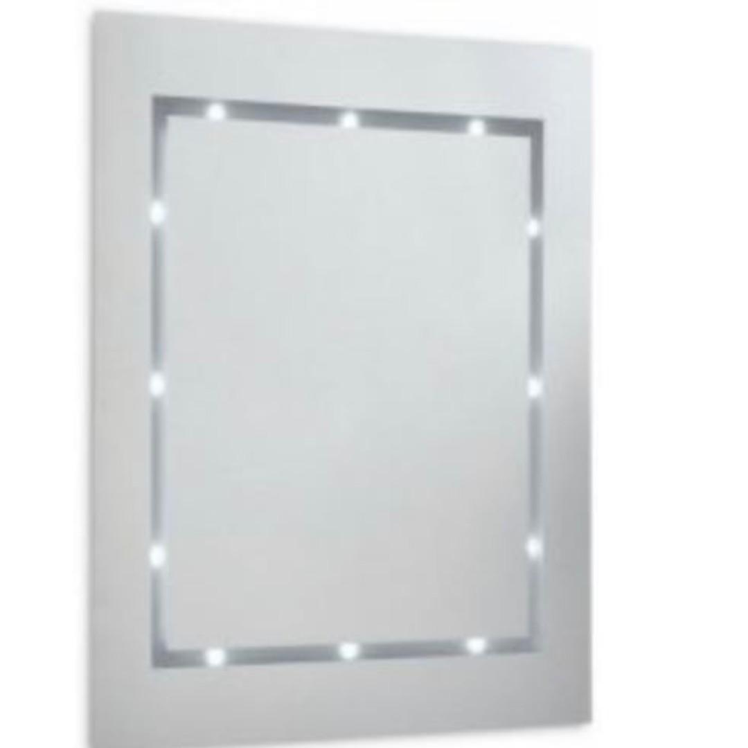 (E1336)MiniSun IP44 LED Bathroom mirror Light Daylight(Battery Operated)