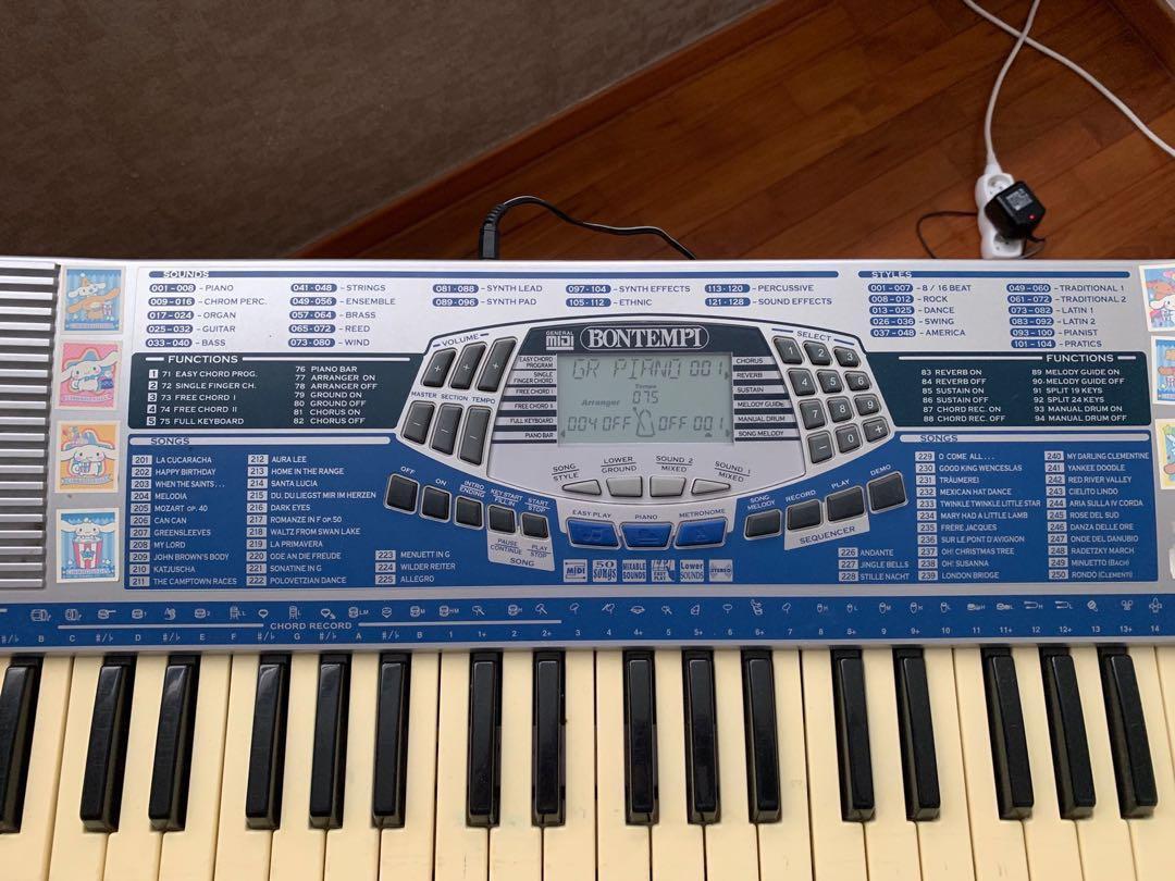 Electronic Keyboard - Bontempi